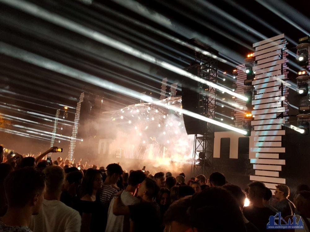 Partymeile Weltkulturerbe, das magnetic-Festival lockte rund 10.000 Menschen nach Völkklingen (Leserfoto)