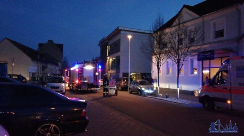 Brand Hoftstattstraße (Leserfoto)