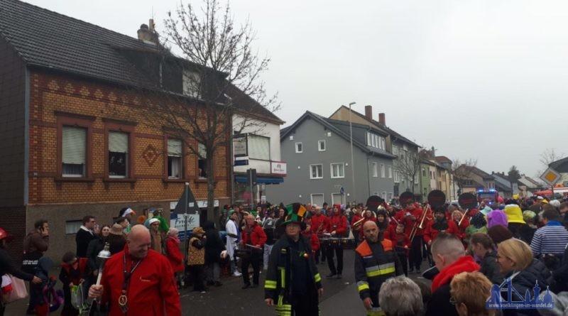 Nach dem friedlich verlaufenen Heidstocker Faschingsumzug wurde die Polizei Völklingen zu zwei Schlägereien gerufen, die sich am Samstagabend um die Veranstaltungshalle in der Neckarstraße ereigneten. (Leserfoto)