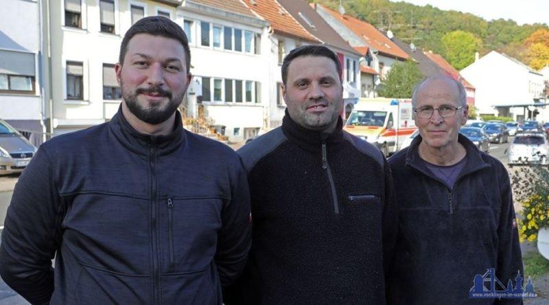 Mefail Cukic (27), Blerim Bugujevci (35) und Alfred Fröhlich (57), Mitarbeiter eines Bestattungsunternehmens - Unsere Helden vom 31. Oktober (Foto: Avenia)