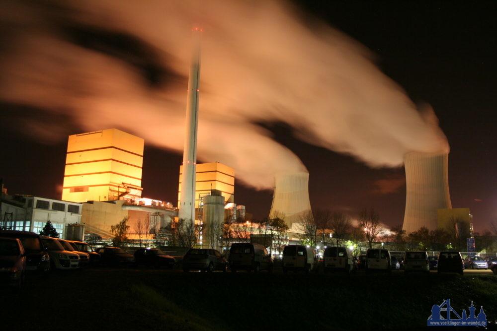 Am STEAG-Kraftwerksstandort in Völklingen-Fenne wird Energiewende gestaltet. Das Bundesministerium für Wirtschaft fördert an dem Energieknotenpunkt im Saarland die industrielle Produktion von sogenanntem grünen Wasserstoff. Foto: Hell