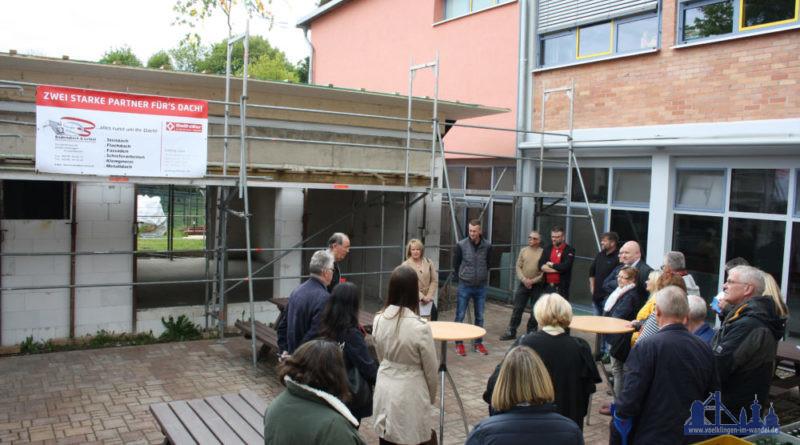 Richtfest zur Erweiterung der Kinderstätte Geislautern-Wehrden e.V (Foto: Stadt)