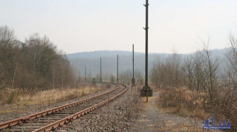 Die Warndtstrecke müsste saniert werden, die Oberleitung ist abgebaut (Foto: Hell/Archiv)