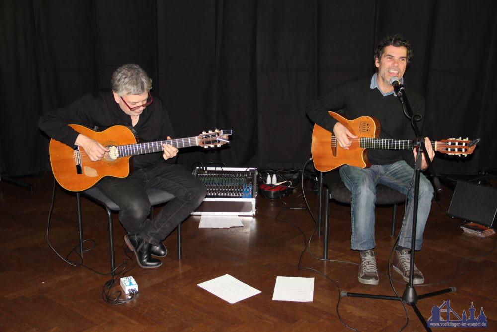 Didier Sustrac und Guido Allgaier begeisterten in Völklingen (Foto: K.H. Schäffner)