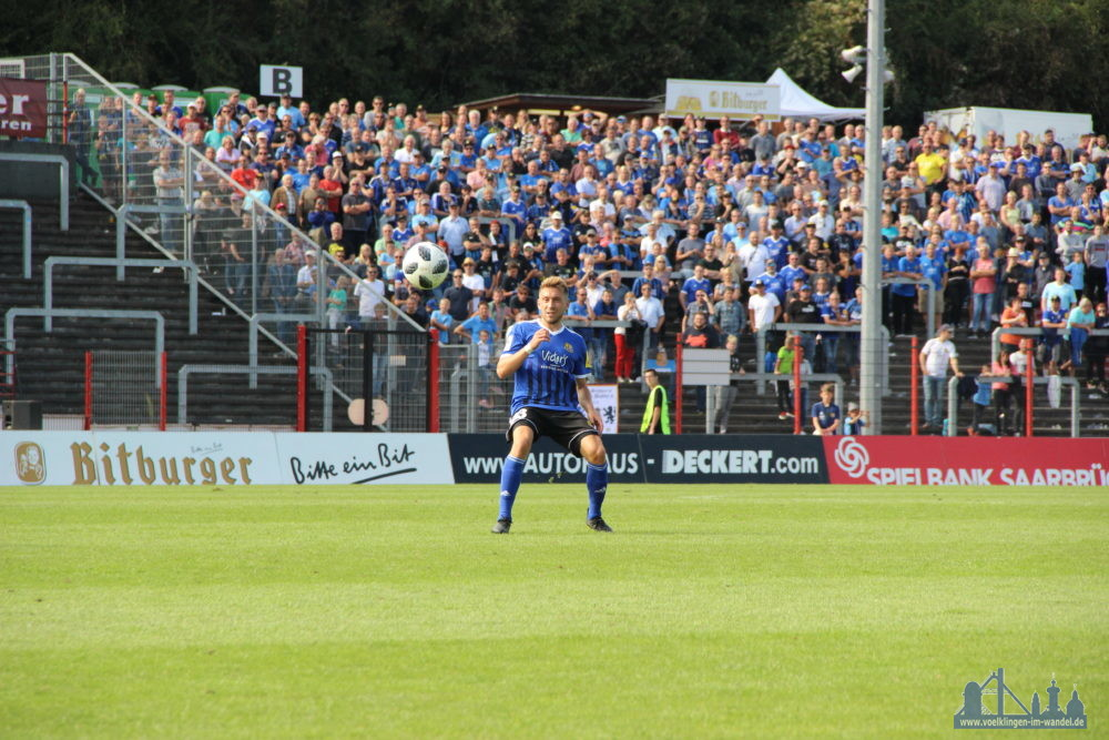 Mario Müller gab alles um den Angriff zu bedienen (Foto: Hell)