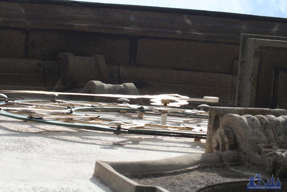 Auf diesem Foto sieht man, wie filigran diese Zeiger sind (Foto: Hell/Archiv)
