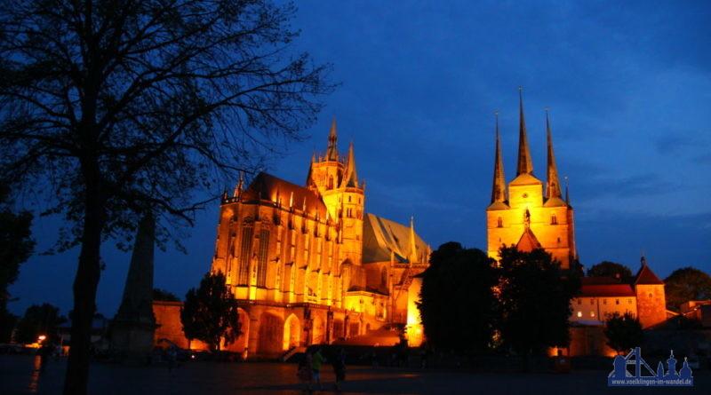 Erfurter Dom und die Severikirche (Foto: Hell)