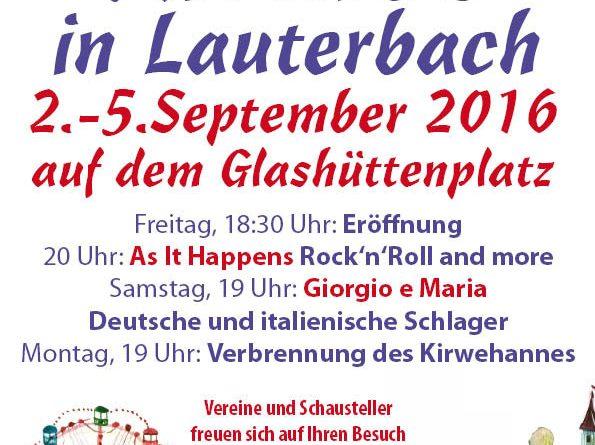 Lauterbacher Kirmes 2016