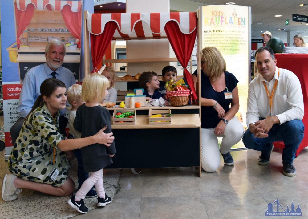 """Der Kids Kaufladen im ersten """"Praxistest"""". Foto: Globus"""