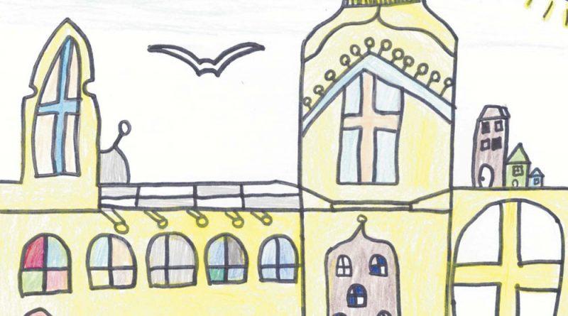 Das Alte Rathaus aus Kinder-Sicht (Scan: Stadt VKL)