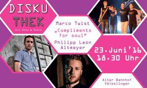 Diskuthek lädt junge Völklinger Künstler zum Talk mit Musik und Show ein