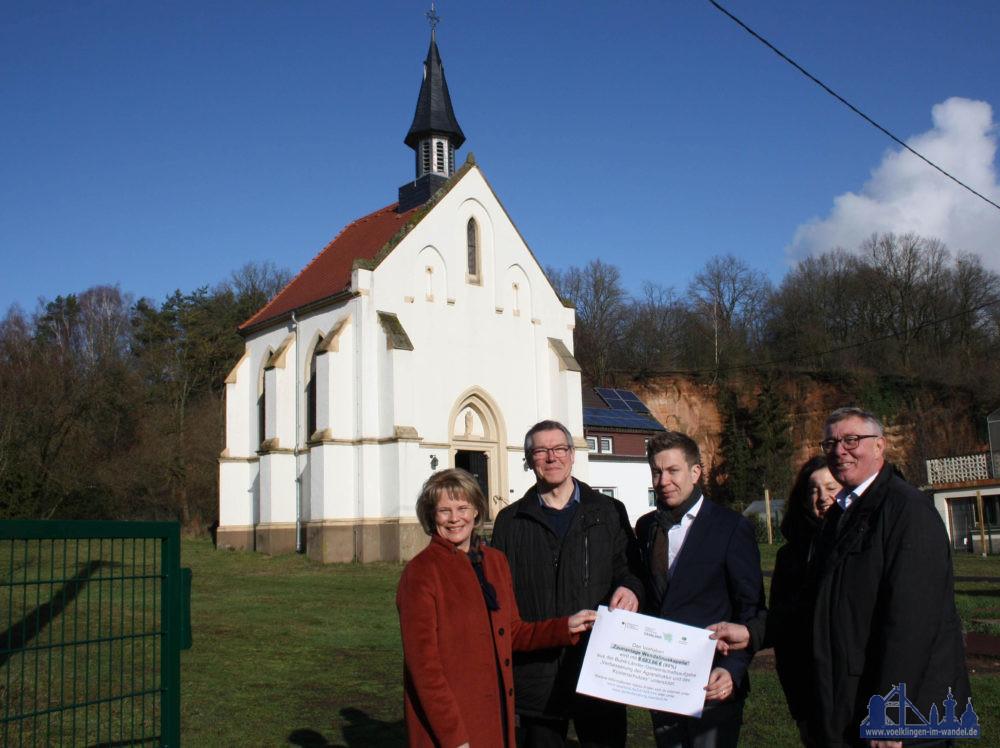Bei dem Projekt der Zaunanlage belaufen sich die Projektkosten auf rund 10.850 Euro; die LAG förderte die Maßnahme mit einer Zuwendung von rund 8.680 Euro. Fotonachweis: Stadt Völklingen / Wolfgang Paquet