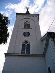 Hugenottenkirche in Ludweiler (Foto: Hell)