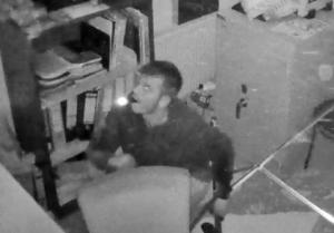 Foto der Kameraüberwachung in den Fressnapf-Filialen (Polizei)