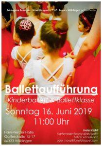 Ballettaufführung des TSC Royal