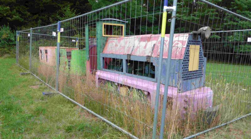 Schmalspur-Untertage-Diesellokomotive der Firma Ruhrtaler (Foto: EBV)