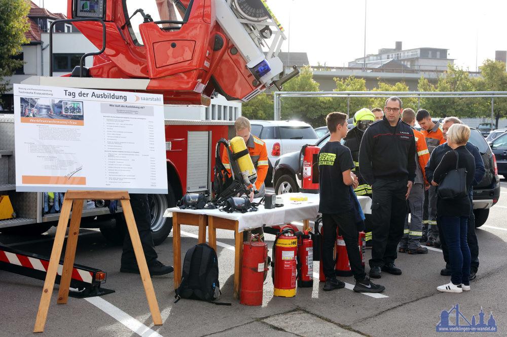 Tag der Ausbildung bei der Saarstahkl AG (Foto: Saarstahl AG)