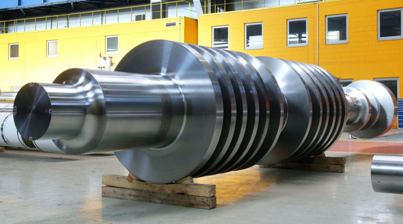 Saarschmiede: Dampfturbine (Foto: Saarstahl AG)