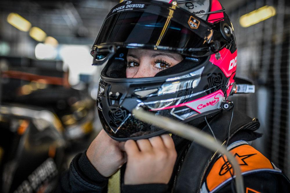 Auch in Asien möchte Carrie Schreiner mit Spike Goddard wieder erfolgreich sein (Foto: motorsport-xl.de )