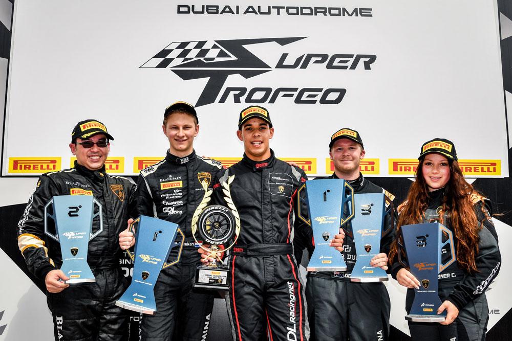 Zweimal Platz drei mit dem Lamborghini Huracan in Dubai  (Foto: motorsport-xl.de)