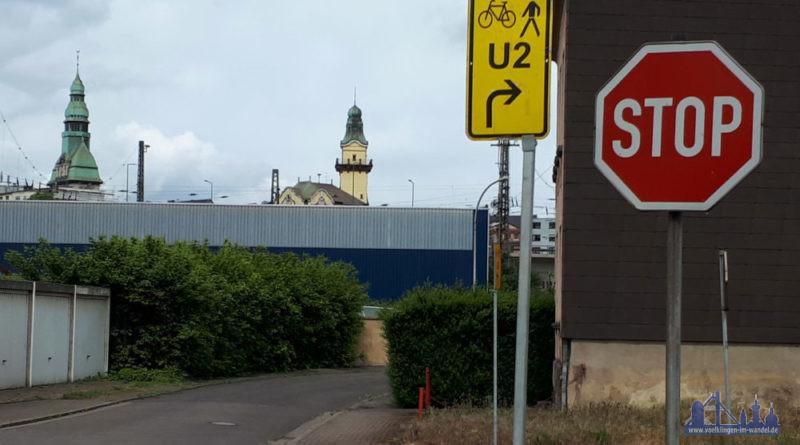 Verschiedene Baustellen plagen momentan Völklingens Radfahrer (Foto: ADFC)