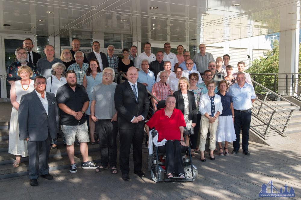 Der neue Stadtrat Völklingens (Foto: Stadt)