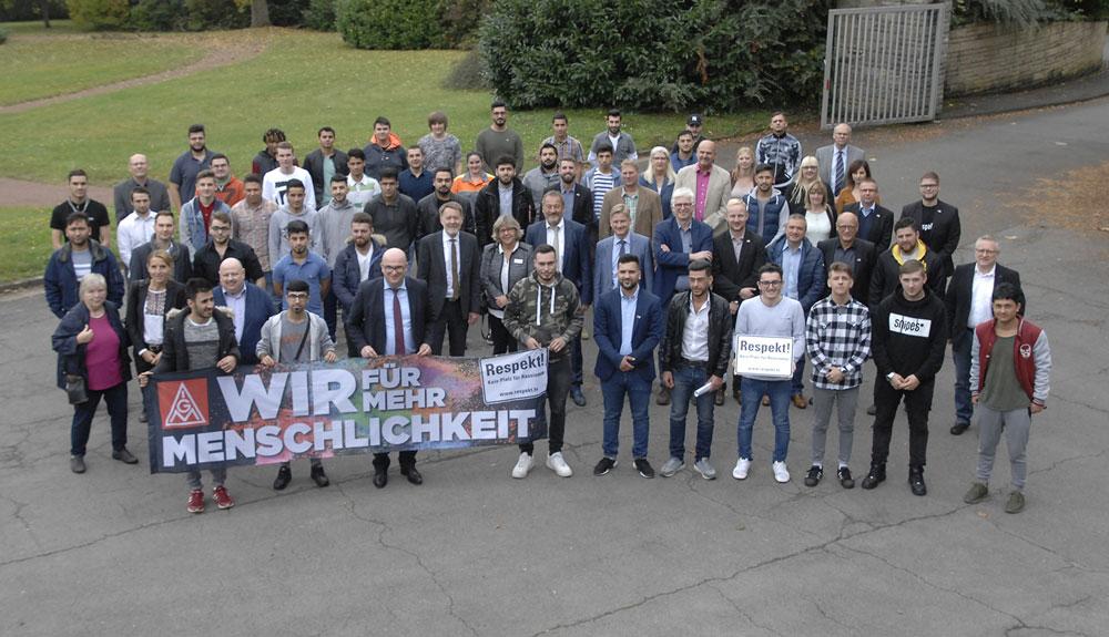 Gruppenfoto der Teilnehmer (Foto: Saarstahl/Dillinger)