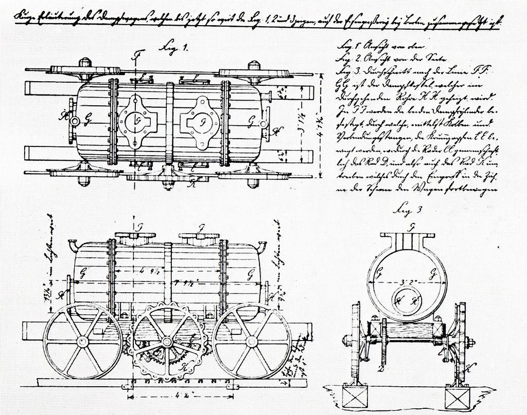 Carl Ludwig Althans (1788-1864) - Hermann Maey / Erhard Born: Lokomotiven der alten deutschen Staats- und Privatbahnen. (Quelle: Steiger Verlag; Gemeinfrei)