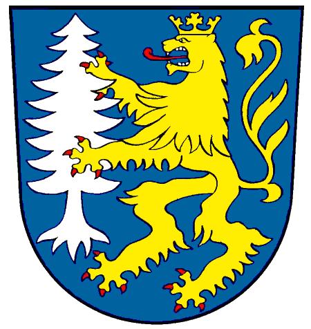 Wappen des Amtes Ludweiler-Warndt