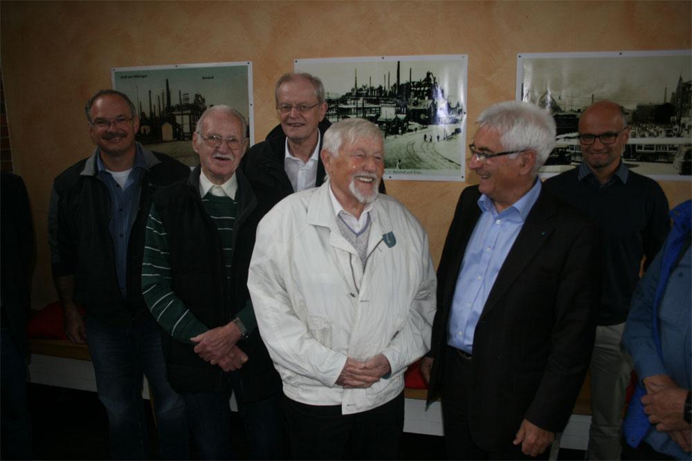 Abschied für ehrenamtlichen Naturschutzbeauftragten Wolfram Doerr (Foto: Stadt)