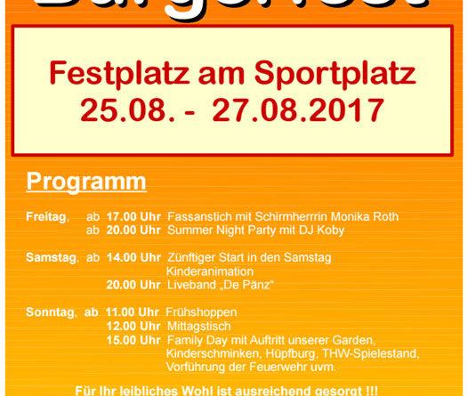 Heidstocker Bürgerfest 2017