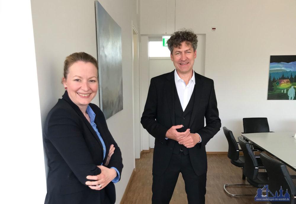 © MBK, Ministerin Christine Streichert-Clivot mit Dr. Ralf Beil.