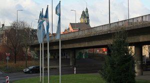 Schon 2013 sah man dem Brückenbauwerk seinen schlechten Zustand an (Foto: Hell)