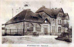 Historische Ansicht des Bahnhof (Fenne-)Fürstenhausen © unbekannt