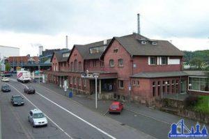 Der inzwischen als Stadtarchiv, Restaurant, Caffee und Veranstaltungsraum genutzte Alte Bahnhof (Foto: Hell)