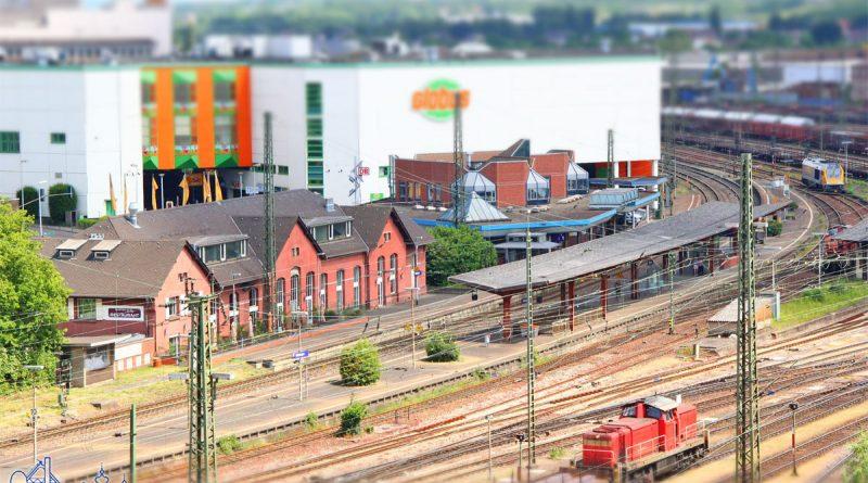Der Bahnhof Völklingen (Foto: Hell)
