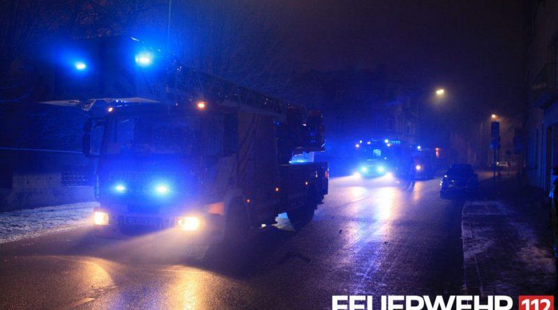 Balkonbrand in der Danzigerstraße (Foto: FFW VKL)