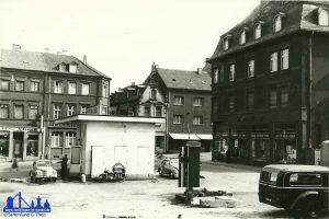 Bauplatz des neuen Residenz-Kinos © Günther Theis