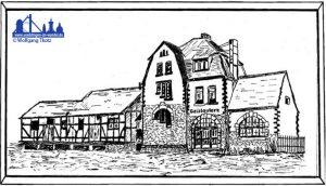 Zeichnung des Gebäudes © Wolfgang Tkotz