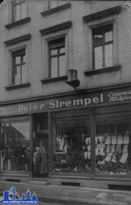 Bismarckstraße 50 um 1924 © Strempel