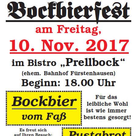 Bockbierfest CDU Fenne 2017