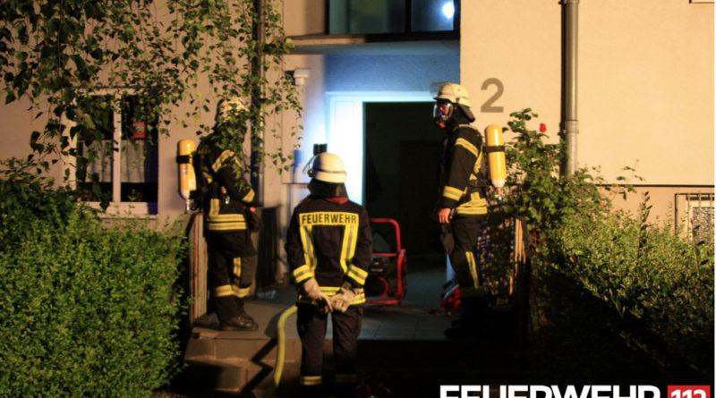 Am frühen Morgen brannte es zum dritten Mal innerhalb weniger Tage im gleichen Gebäude (Foto: FFW Völklingen)