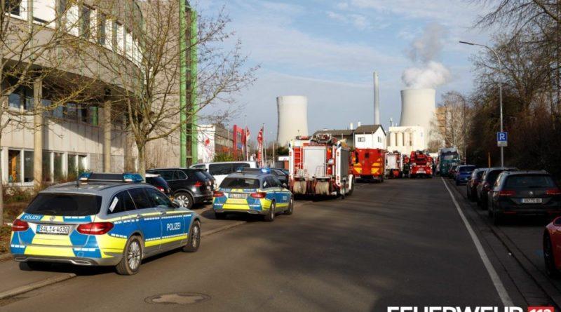 die Feuerwehr rückte zu einem Brand in einem Casino aus (Foto: Feuerwehr Völklingen)