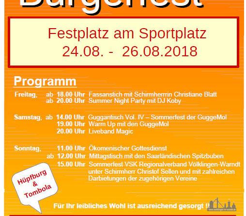 Heidstocker Bürgerfest 2018