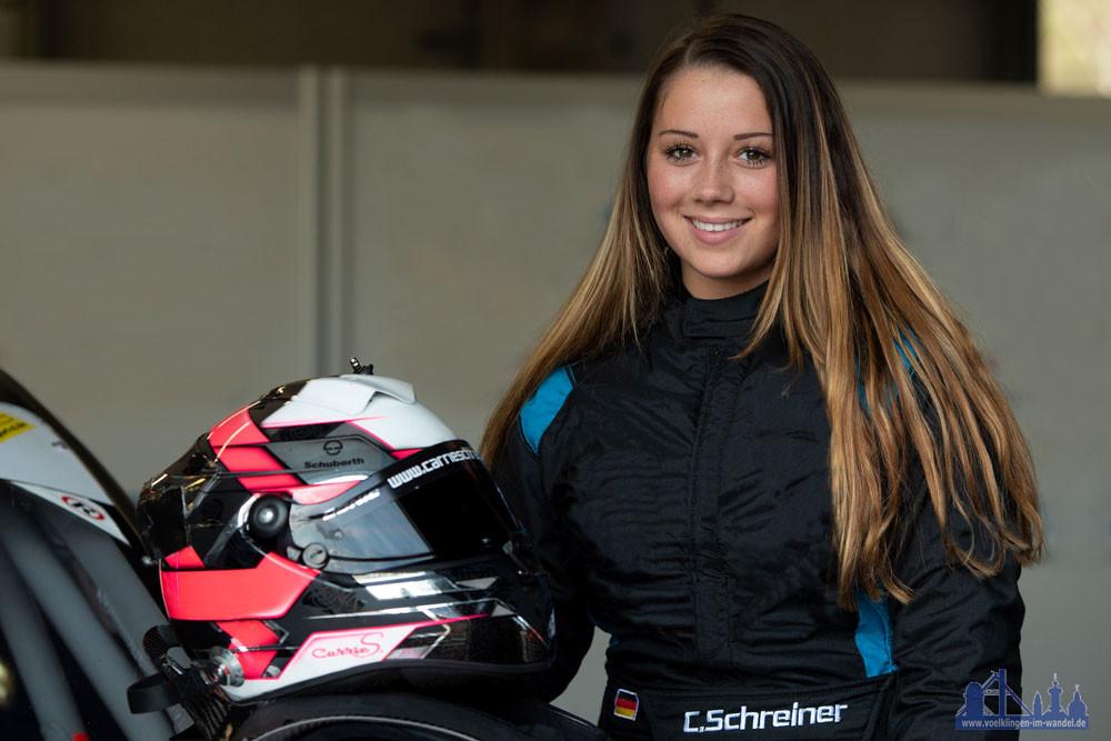 Die Völklingerin Carrie Schreiner freut sich auf den Test mit dem Formel E bei HWA RACELAB (Foto: PM motorsport-xl.de)