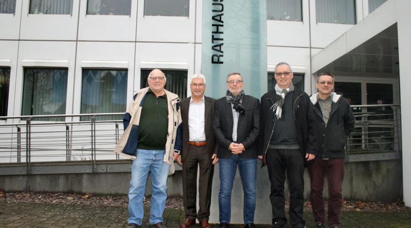 Die Organisatoren mit Oberbürgermeister Klaus Lorig (Foto: Stadt)