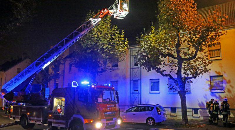 Die Drehleiter der Völklinger Feuerwehr - ein Leben rettendes Einsatzgerät (Foto: Avenia)