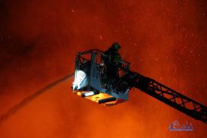 Feuerwehr im Einsatz (Symbolfoto: Hell/Archiv)