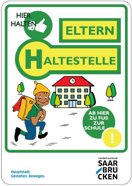 """Ist die Saarbrücker Elternhaltestelle auch ein Modell für Völklinger Schulen? Foto: """"Landeshauptstadt Saarbrücken"""""""