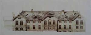 Ein Bauentwurf von vor 1893